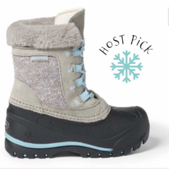 NIB Toddler Girl/'s Winter Snow Boots Size 6-11 Three Colors